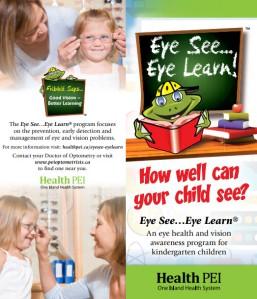 Eye See Eye Learn brochure thumbnail